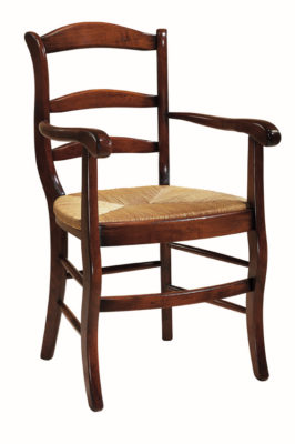 F134 - Fauteuil Louis Philippe traditionnel