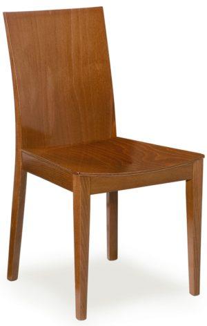 68 assise bois Chaise au design épuré