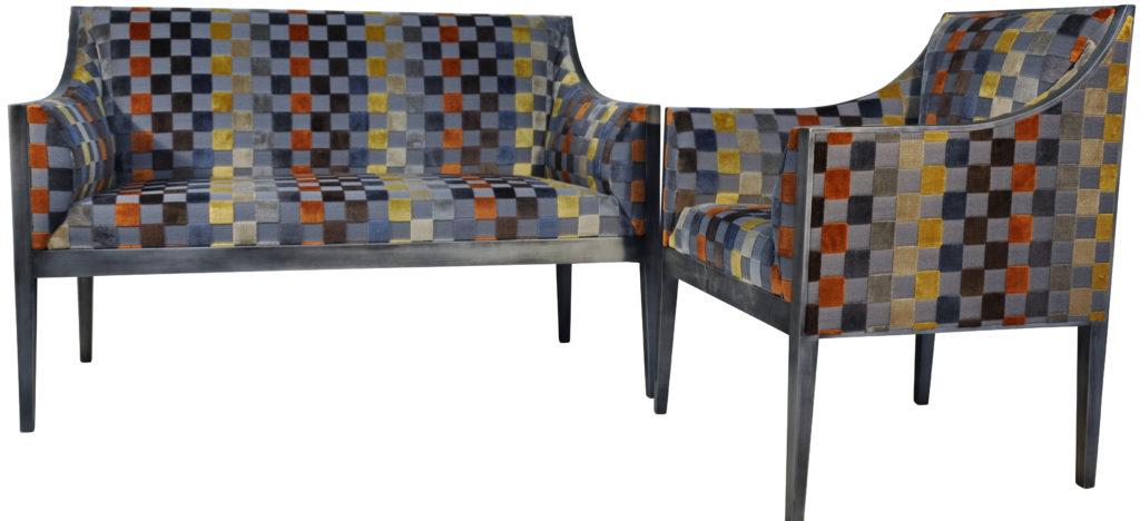 Guillaume ensemble canapé fauteuil