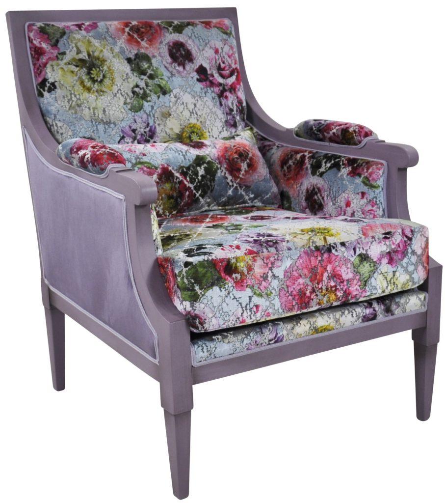 Manon violet fleurs et brunei