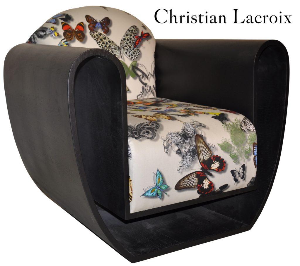 Figaro Laque Noire Papillon Lacroix