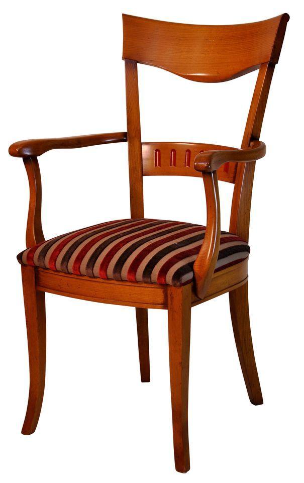 008 fauteuil ch patiné Alexandria rouge