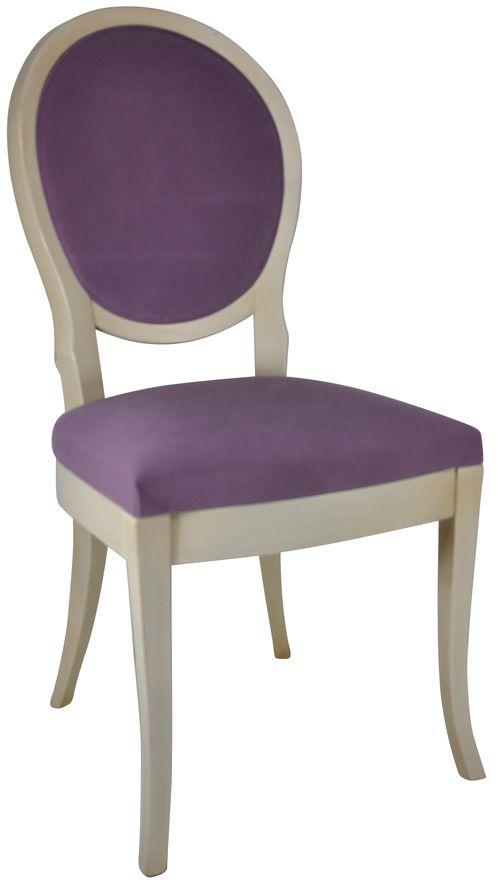 Pauline blanc patiné micro violette
