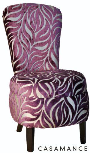 Maud laque noire sughunda violet