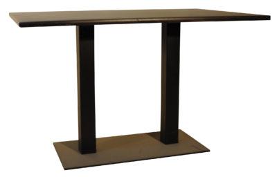 Table Pied Métal Plateau 120 cm * 80 cm