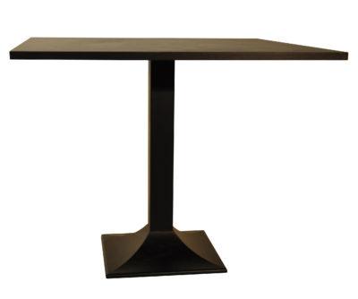 Table Pied 507 Fonte Noire Plateau 90 cm