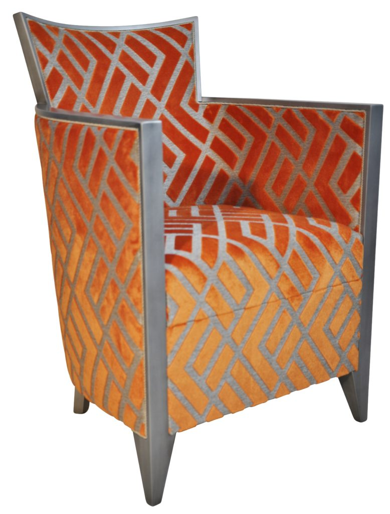 Nathan Vieil Argent Losange Orange