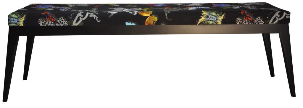 Axel Laque Noir Tissu Papillon Noir